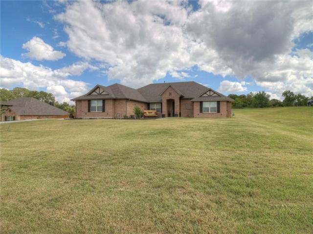 212 Oakridge Drive, Choctaw, OK 73020 (MLS #835992) :: Wyatt Poindexter Group