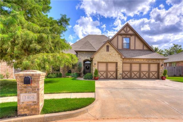 1404 NW 174th Court, Edmond, OK 73012 (MLS #835997) :: Wyatt Poindexter Group