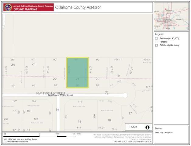 1613 NW 199th Street, Edmond, OK 73012 (MLS #836026) :: Erhardt Group at Keller Williams Mulinix OKC