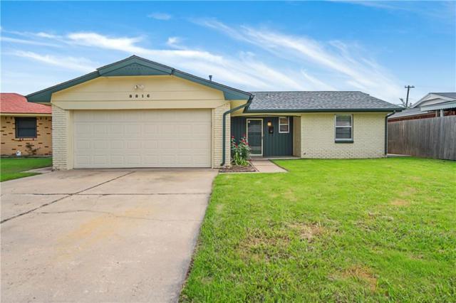 8816 S Villa Place, Oklahoma City, OK 73159 (MLS #836113) :: Wyatt Poindexter Group