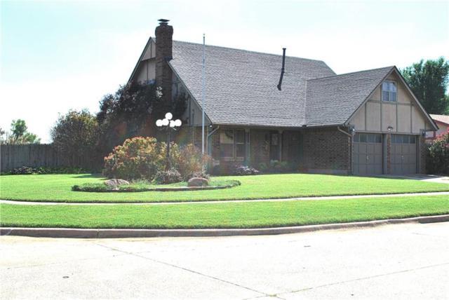 523 S Silver Drive, Mustang, OK 73064 (MLS #836206) :: Wyatt Poindexter Group