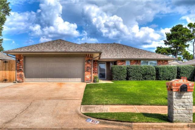 612 S Bouziden Drive, Moore, OK 73160 (MLS #836396) :: Barry Hurley Real Estate