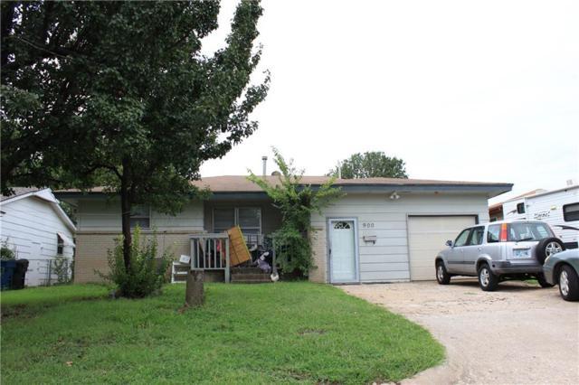 900 Stiver Drive, Midwest City, OK 73110 (MLS #836507) :: Wyatt Poindexter Group