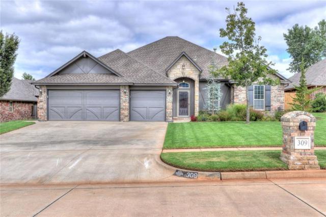 309 E Atlanta Terrace, Mustang, OK 73064 (MLS #836779) :: UB Home Team