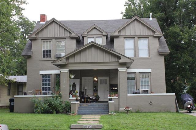 1815 W Park Place, Oklahoma City, OK 73106 (MLS #836805) :: Erhardt Group at Keller Williams Mulinix OKC