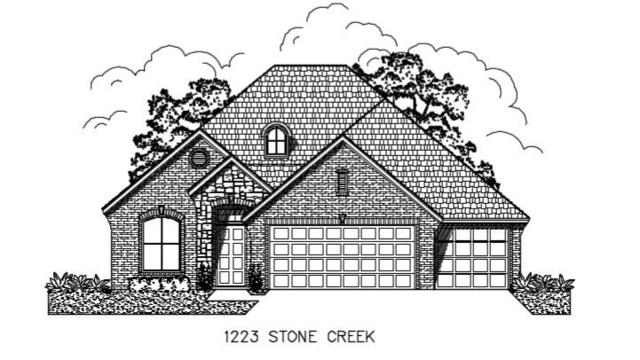 1223 Stone Creek Drive, Norman, OK 73071 (MLS #836847) :: Wyatt Poindexter Group