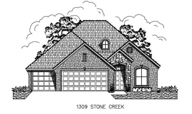 1309 Stone Creek Drive, Norman, OK 73071 (MLS #836851) :: Wyatt Poindexter Group