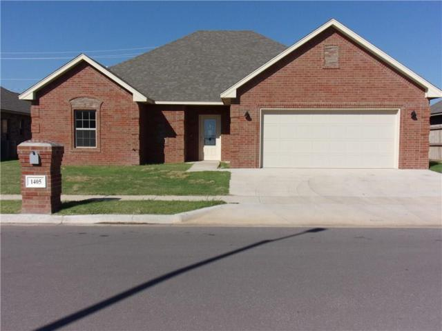 1405 Dustbowl Lane, Altus, OK 73521 (MLS #836951) :: Wyatt Poindexter Group