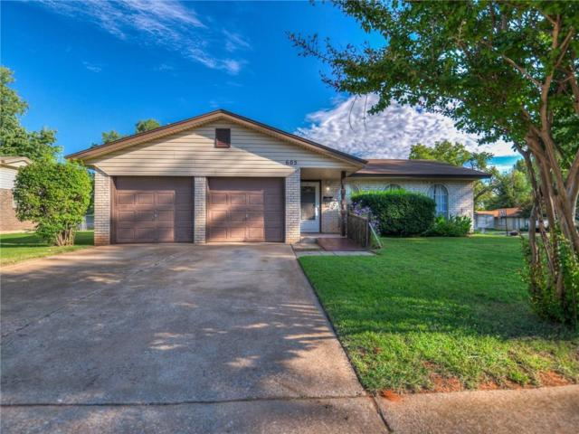 605 W Forest Drive, Mustang, OK 73064 (MLS #836982) :: UB Home Team