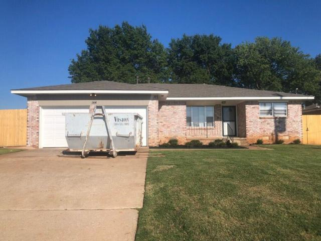 144 N King, Midwest City, OK 73130 (MLS #837242) :: UB Home Team