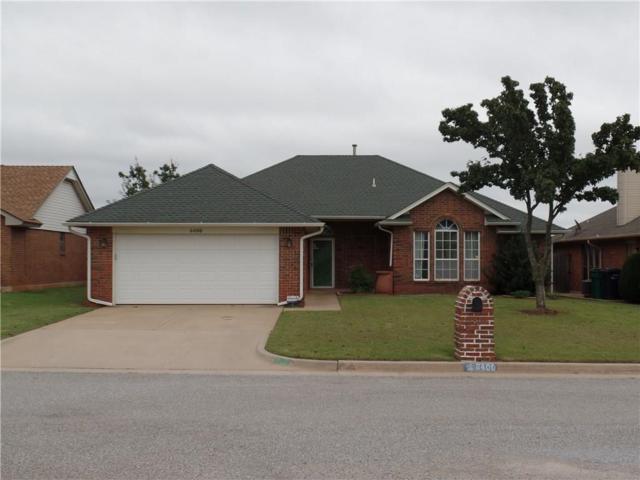 8400 Cinnamon Teal Drive, Oklahoma City, OK 73132 (MLS #837414) :: Erhardt Group at Keller Williams Mulinix OKC