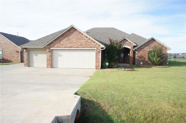 6809 Rolling Meadows, Tuttle, OK 73089 (MLS #837800) :: Homestead & Co
