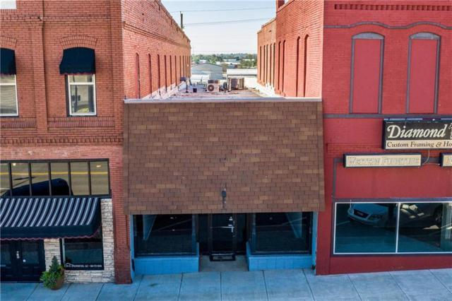 112 W Main Street, Weatherford, OK 73096 (MLS #837983) :: Homestead & Co