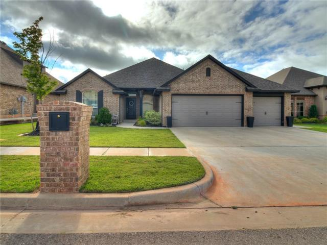 1100 Lindsey Lane, Moore, OK 73160 (MLS #838218) :: Erhardt Group at Keller Williams Mulinix OKC