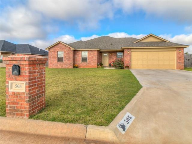 505 Willow Street, Elk City, OK 73644 (MLS #838448) :: KING Real Estate Group