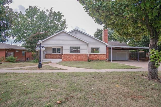711 N Main, Blanchard, OK 73010 (MLS #838583) :: Meraki Real Estate