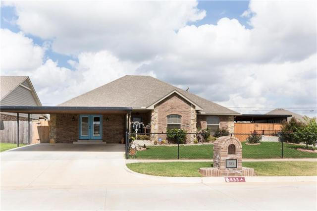 833 SW 11th Street, Moore, OK 73160 (MLS #838692) :: KING Real Estate Group