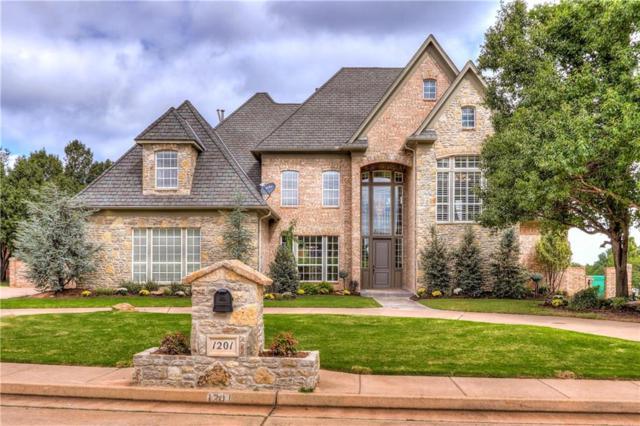 1201 Irvine, Edmond, OK 73025 (MLS #838819) :: KING Real Estate Group