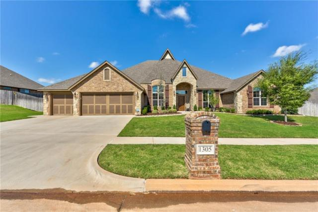 1305 NW 187th Street, Edmond, OK 73012 (MLS #838901) :: Homestead & Co