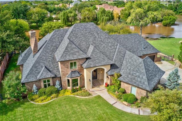 18717 Hunter Creek Drive, Edmond, OK 73012 (MLS #839222) :: Barry Hurley Real Estate