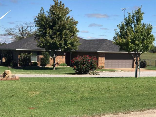 886 County Road 1590, Rush Springs, OK 73082 (MLS #839391) :: Erhardt Group at Keller Williams Mulinix OKC