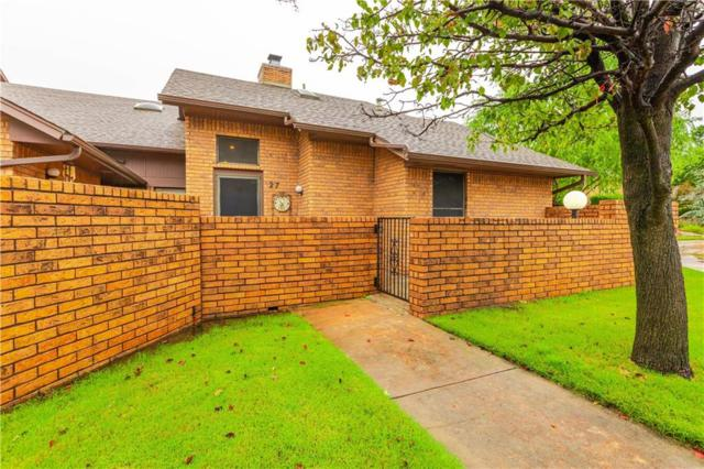 1899 Saddleback Boulevard #27, Norman, OK 73072 (MLS #839595) :: Erhardt Group at Keller Williams Mulinix OKC
