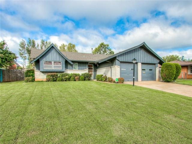3709 N Shadywood Drive, Midwest City, OK 73110 (MLS #839713) :: Homestead & Co