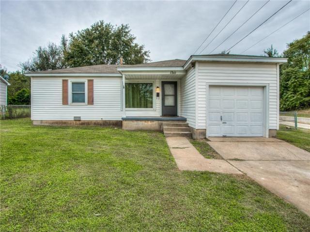1511 N Key Boulevard, Midwest City, OK 73110 (MLS #839769) :: Homestead & Co
