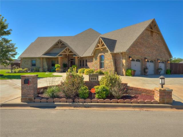 808 Briarwood, Weatherford, OK 73096 (MLS #839789) :: KING Real Estate Group
