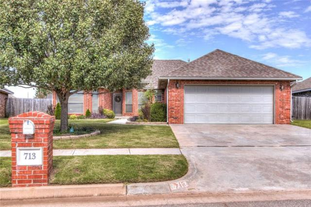 713 SW 161st Street, Oklahoma City, OK 73170 (MLS #840131) :: Erhardt Group at Keller Williams Mulinix OKC