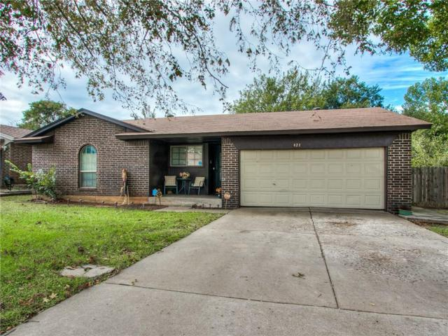 421 Woodland, Midwest City, OK 73130 (MLS #840255) :: Homestead & Co