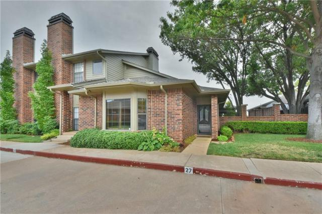 6204 Waterford Boulevard #27, Oklahoma City, OK 73118 (MLS #840513) :: KING Real Estate Group