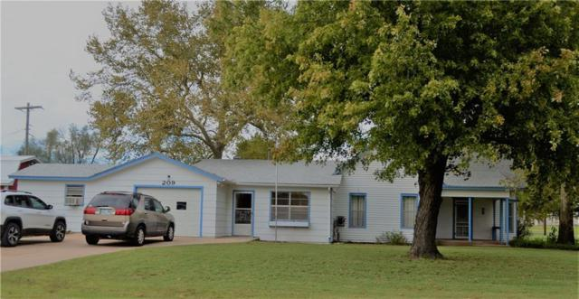 209 W 8th, Dill City, OK 73641 (MLS #840581) :: KING Real Estate Group