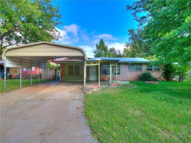 860 S Scott Street, Del City, OK 73115 (MLS #840641) :: Barry Hurley Real Estate
