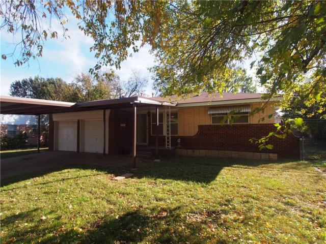 3002 Edgewood Drive, Midwest City, OK 73110 (MLS #841480) :: Erhardt Group at Keller Williams Mulinix OKC