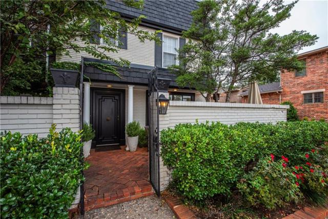 6456 Brandywine Lane #20, Oklahoma City, OK 73116 (MLS #841533) :: KING Real Estate Group