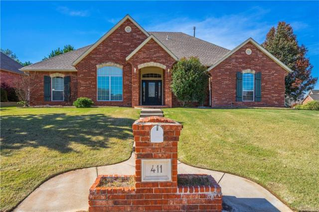 411 Windsor Road, Midwest City, OK 73130 (MLS #841587) :: KING Real Estate Group