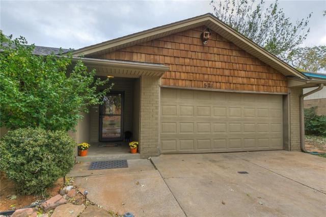 521 Cinnamon Drive, Edmond, OK 73003 (MLS #841819) :: KING Real Estate Group