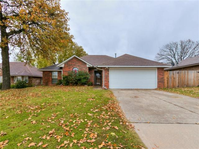 1304 Nottoway Drive, Midwest City, OK 73130 (MLS #842121) :: UB Home Team