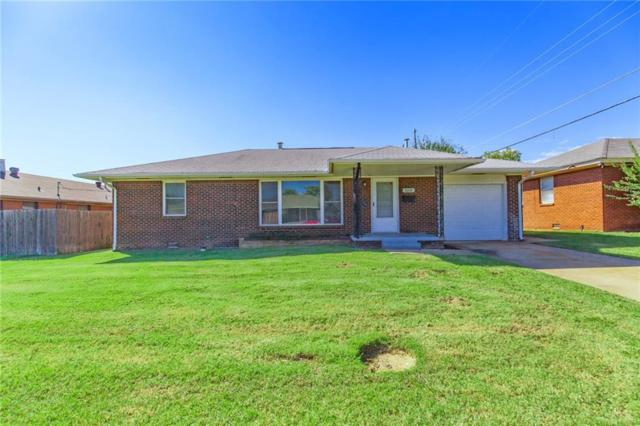 2205 N Key Boulevard, Midwest City, OK 73110 (MLS #842617) :: Erhardt Group at Keller Williams Mulinix OKC