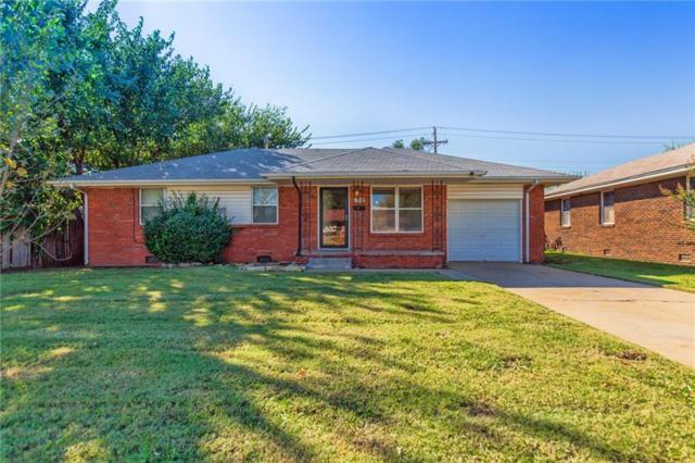 2309 Maple Drive, Midwest City, OK 73110 (MLS #842622) :: Erhardt Group at Keller Williams Mulinix OKC