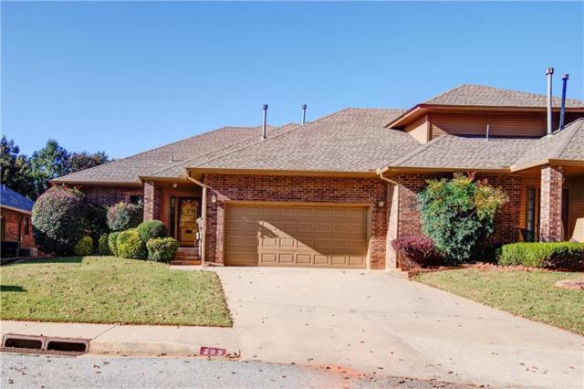 203 Woodbridge Circle, Edmond, OK 73012 (MLS #842709) :: KING Real Estate Group
