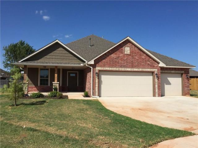 1209 N Columbia Terrace, Mustang, OK 73064 (MLS #842794) :: Erhardt Group at Keller Williams Mulinix OKC