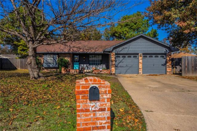 725 Wood Crest, Moore, OK 73160 (MLS #843340) :: Meraki Real Estate