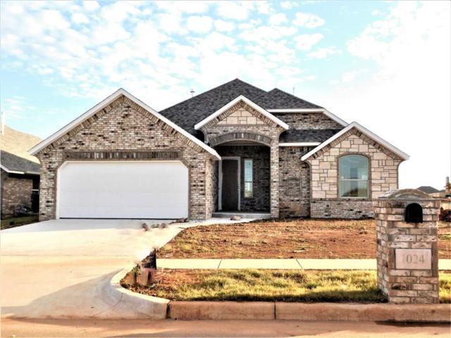 1024 NE 34th Terrace, Moore, OK 73160 (MLS #843359) :: Meraki Real Estate
