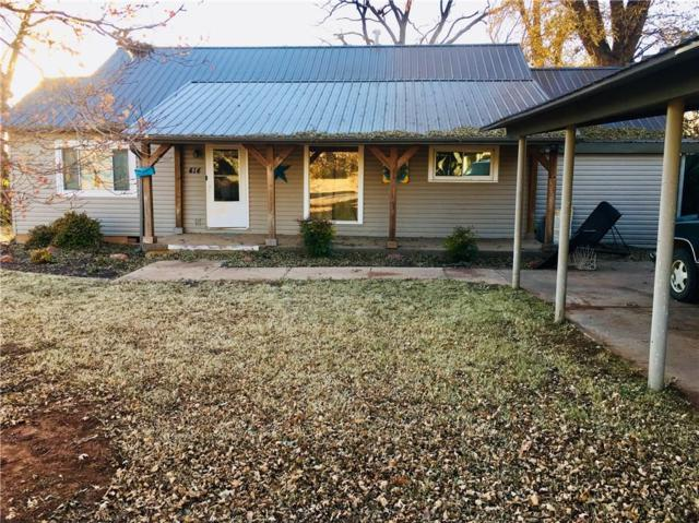 414 S Market St, New Cordell, OK 73632 (MLS #843524) :: KING Real Estate Group