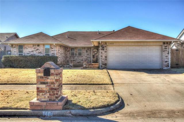 1401 Smoking Tree, Moore, OK 73160 (MLS #843539) :: Meraki Real Estate