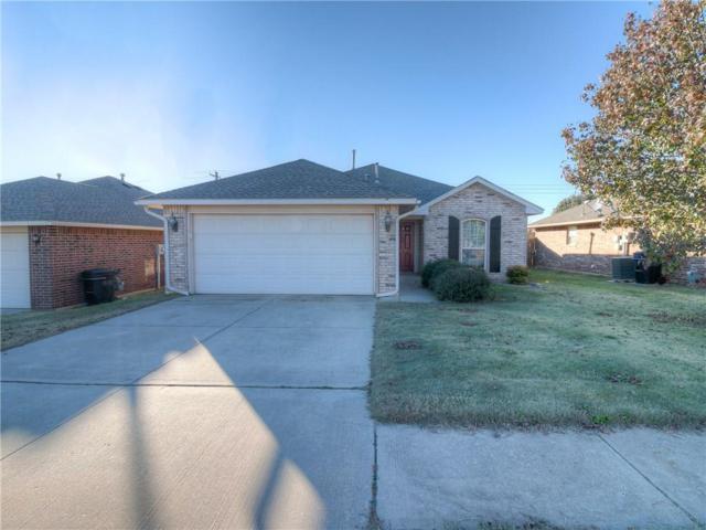3705 W End Avenue, Moore, OK 73160 (MLS #843636) :: Homestead & Co