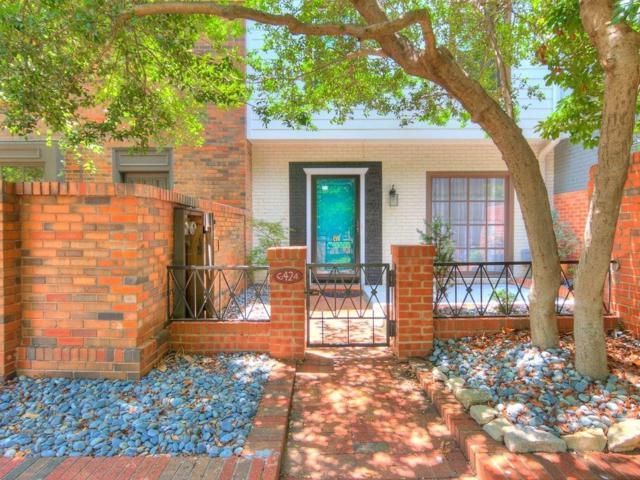 6424 Brandywine Lane #12, Oklahoma City, OK 73116 (MLS #843859) :: Erhardt Group at Keller Williams Mulinix OKC
