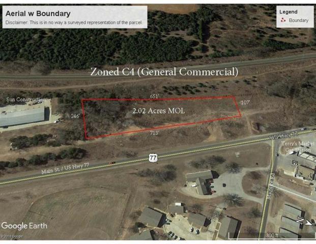 00 S Main Street, Noble, OK 73068 (MLS #844032) :: Erhardt Group at Keller Williams Mulinix OKC